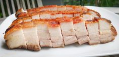 The Food Canon - Inspiring Home Cooks: Roast Pork Belly (Sio Bak) the Sous Vide way