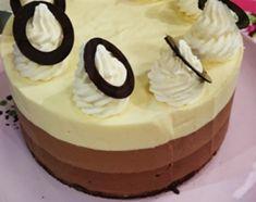 Torta trilog�a de chocolate
