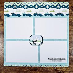 Scrapbook Sketches, Scrapbooking Layouts, Scrapbook Pages, Christmas Scrapbook, Creative Memories, Page Layout, Winter Christmas, Diy Crafts, Templates