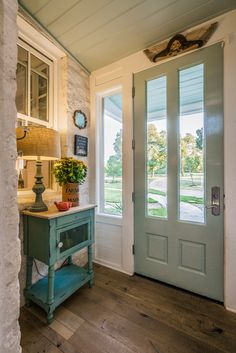 farmhouse foyer | Van Wicklen Design