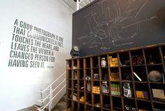 chalkboard pegboard / wall stencil