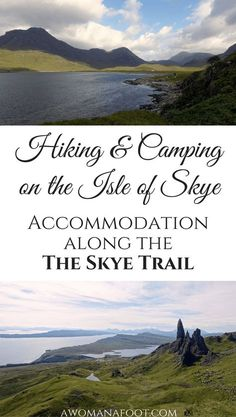 Camping on Skye: Find out where you can stop for the night along the Skye Trail: wild camp spots, camp sites and bothies. | hiking in Scotland | wild camping in Scotland | wild camping on Skye | hill walking on the Isle of Skye | solo travel | female solo