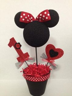 Minnie mouse centerpieces on Etsy,