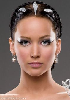 Photos: Exclusive: Jennifer Lawrence in Katniss Everdeen Couture for Hunger Games: Catching Fire   Vanity Fair