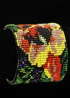 Seed Bead Cuff Bracelet Our Price : $30.00