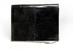 Vinatge snake print emboosed leather by Preppytrendy on Etsy