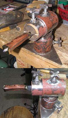 Knife maker's vise