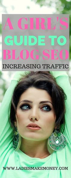 A girl's guide to using seo to grow your blog and attract blog traffic, grow your email list and make money online. We have amazing blog seo tips that will help you get your work found on the internet and on Google. So how do you optimize blog posts for s
