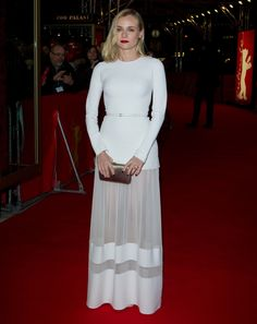 Diane Kruger in Elie Saab   Berlin International Film Festival 2014