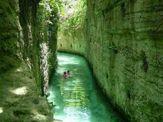 Xcaret archaeological park located in Riviera Maya, Cancun