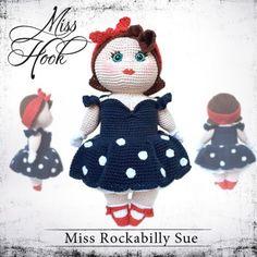 "Häkelanleitung Puppe ""Miss Rockabilly Sue"" eBook"