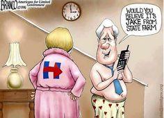 LOL!  #Hillary #Hillaryforprison2016 #Hillarysucks #Monicasexboyfriendswife #Nohillary   http://www.sonsoflibertytees.com/patriotblog/lol-25/?utm_source=PN&utm_medium=Pinterest+%28Memes+Only%29&utm_campaign=SNAP%2Bfrom%2BSons+of+Liberty+Tees%3A+A+Liberty+and+Patriot+Blog-24938-LOL%21