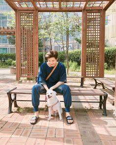 This is literally so cute! I'm having a hard time deciding on who's cuter namjoon or rapmon? Jhope, Taehyung, Kim Namjoon, Bts Bangtan Boy, Bts Jimin, Foto Bts, Bts Photo, Mixtape, The Secret Garden