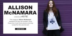 Allison McNamara exclusively at eLUXE!
