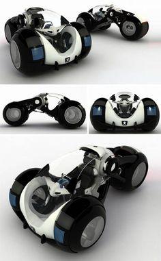The so-called Rolling Stone car by Russian designer Vitaly Kononov #concept #cars