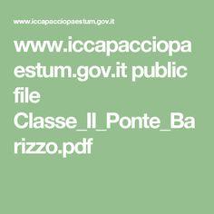 www.iccapacciopaestum.gov.it public file Classe_II_Ponte_Barizzo.pdf