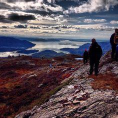 Fjetlandsnuten 659 moh. Nydelig tur! http://ut.no/sted/5.1-37558/