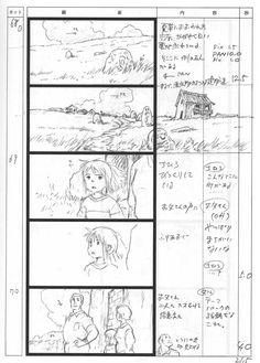 The Secret World Of Arrietty Studio Ghibli  Storyboards And