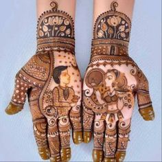 Here you can get the latest Karwa Chauth Mehndi designs Karwa Chauth is a Hinduism festival in Kartik month, in which married and unmarried women pray Latest Bridal Mehndi Designs, Full Hand Mehndi Designs, Mehndi Designs For Girls, Wedding Mehndi Designs, Dulhan Mehndi Designs, Simple Mehndi Designs, Mehendi, Legs Mehndi Design, Mehndi Design Images
