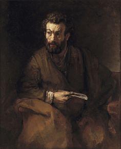 Rembrandt, The Apostle Bartholomew, 1657. Oil on canvas, 122.7 x 99.7 cm. Timken Museum of Art, San Diego, 1952.001 © Putnam Foundation / Timken Museum of Art, San Diego, CA