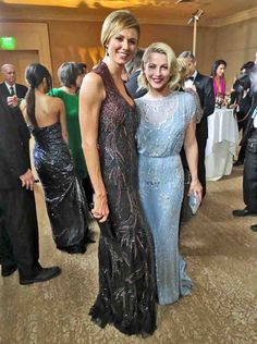 Stacy Keibler and Julianne Hough - best dressed at Carousel Ball
