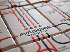 Packaging / Metrodeck - Box — Designspiration