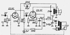 file.php (870×447) Electronic Circuit Projects, Electronic Schematics, Bass Amps, Stereo Amplifier, Vacuum Tube, Radios, Glass Bottles, Log Projects, Tecnologia