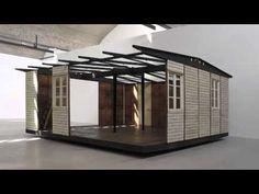 JEAN PROUVÉ: Demountable House Installation at Gagosian Le Bourget, Paris