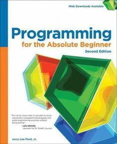 Are you interested in learning to program computers? PROGRAMMING FOR THE ABSOLUTE BEGINNER, SECOND EDITION is a friendly guide that will teach you the fundamentals of computer programming through the