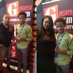 An hour with Thandolwethu and Trevor Philips at Gagasi fm studios Trevor Philips, Studios, Events, Fictional Characters, Happenings, Studio, Fantasy Characters