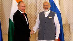 In Goa, India and Russia Close 16 Deals Worth Billions