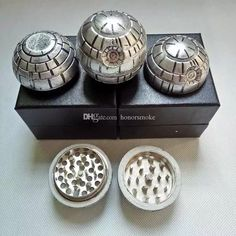 Wholesale cheap death star wars grinders online, brand - Find best 3 layers death star wars grinders diameter 55mm zinc alloy metal herbal grinder round ball tobacco muller with gift box vs pokeball grinders at discount prices from Chinese other  smoking accessories supplier - honorsmoke on DHgate.com.