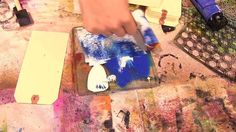 Gelli Arts Printing Plates with Ronda at The Crafter's Workshop by Mark Giles. Ronda Palazzari shows us a quick way to use the Crafter's Workshop Templates with the Gelli Arts Printing Plate!