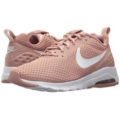meet d0e75 af2fc Nike Air Max Motion Lightweight LW (Particle PinkWhite) Womens Shoes  (85) ❤ liked on Polyvore featuring shoes, athletic shoes, lightweight  athletic ...