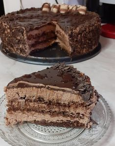 Cookbook Recipes, Sweets Recipes, Cookie Recipes, Desserts, Greek Pastries, Food Vids, Greek Sweets, Torte Cake, Best Chocolate Cake