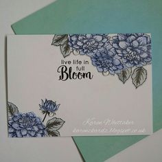 Altenew Dahlia Blossoms #altenew #dahliablossoms #dahlia #distressinks #stamping #stamps #handmade #cardmaking #cards