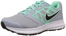 nike Womens Mesh Upper Overlays 6 Running Shoes Small Wolf Grey >>> To view further for this item, visit the image link.