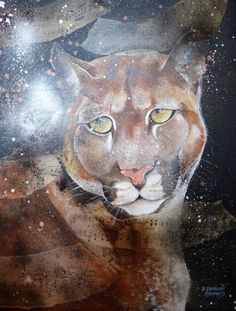 Buy The air of time(weather) on the puma - l'air du temps sur le puma, Mixed Media painting by B Dumont Renard on Artfinder. Discover thousands of other original paintings, prints, sculptures and photography from independent artists.