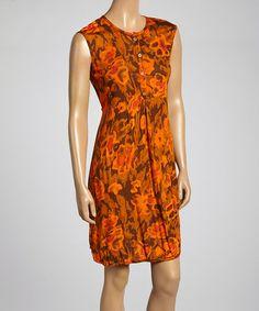 Another great find on #zulily! Crete Parker Button-Up Dress #zulilyfinds