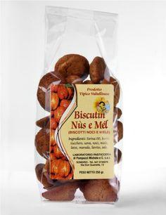 Biscutìn nùs e mél - Biscotti noci e miele