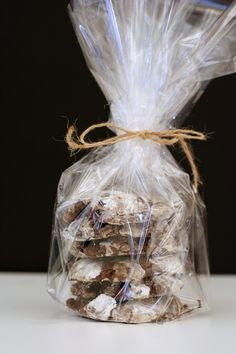 Chocolate Marshmallow Crinkle Cookies (Homemade Chocolate Wrapping)