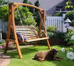 LECO Gartenschaukel Ronda - Beschwingtes Urlaubsfeeling im eigenen Garten!