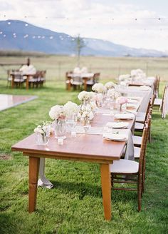Simple Country Chic Ranch Wedding
