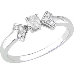 1/5 Carat T.W. Round Diamond Ring in 10kt White Gold Review Buy Now
