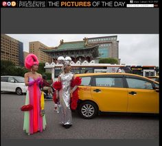 Taiwan LGBT pride on @zumapress pictures of the day.  #Taipei #craigfergusonimages #lgbt #dragqueen