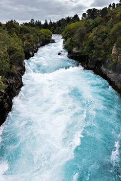 huka falls, lake taupo, new zealand: philip bird.