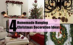 4 Homemade Hanging Christmas Decoration Ideas