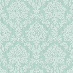 Fine Decor Burlington Damask Wallpaper Mint - Fine Decor from I love wallpaper UK