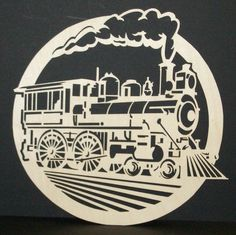 Few things in life are as much fun as woodworking. Woodworking allows you to show off your carpentry skills. Woodworking is great for so many reasons. Scroll Saw Patterns Free, Scroll Pattern, Cnc Projects, Projects To Try, Vinyl Crafts, Paper Crafts, Train Silhouette, Stencils, Train Art