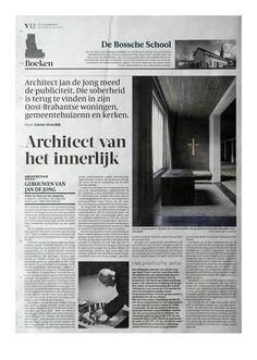 de Volkskrant   article 'Architect van het innerlijk'   July 10th 2012